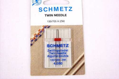 A twin needle from Schmetz